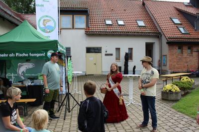 Die Blutbuchen-Königin aus Sondershausen besucht unseren Stand