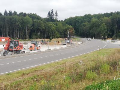 Ausbau eines Kreisverkehrsplatzes im Einmündungsbereich der Bopparder Straße an die Kreisstraße 96