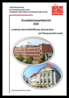 Der Gutachterausschuss für Grundstückswerte in den Landkreisen Spree-Neiße und Oberspreewald-Lausitz hat den Grundstücksmarktbericht 2020 veröffentlicht. Er kann online kostenfrei eingesehen werden. (Screenshot: LK OSL/Werner)