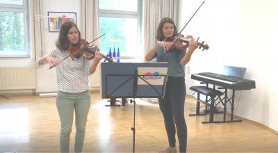 Foto zur Meldung: Informationsvideo Violine/Viola