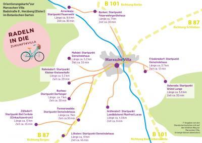 Aktion zur Mobilität: Fahrradsternfahrt & Wandern am 18.09.2021