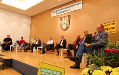 Video vom Bürgermeisterstammtisch zur Bundestagswahl