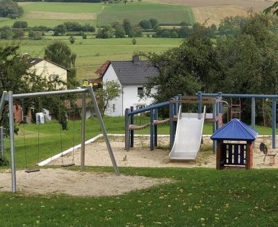 Foto zur Meldung: Spielplatz Effolderbach: Baumaßnahme dauert noch etwas an