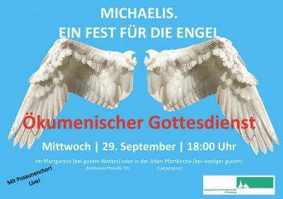 Michaelis - Ein Fest für die Engel: Mittwoch, 29. September