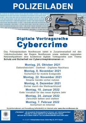 Digitale Vortragsreihe Cybercrime