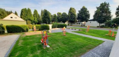Einweihung des Outdoor-Fitnessplatzes am 25.09.2021