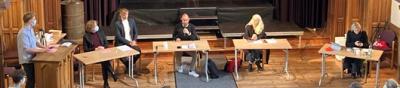Politische Diskussionsrunde an der Domschule
