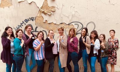 Netzwerktreffen Junger LandFrauen in Berlin / politisches Engagement der Frauen
