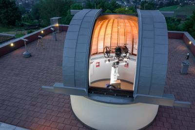 Ein Abend in der Sternwarte - Eröffnung der Beobachtungssaison