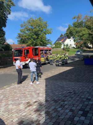 Vorschaubild der Meldung: Filmdreh bei der Freiwilligen Feuerwehr Mariendorf