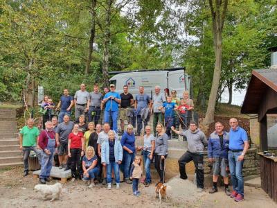 Freiwilligentag 2021 in Hornel