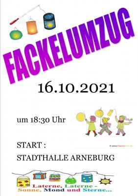 Fackelumzug in Arneburg