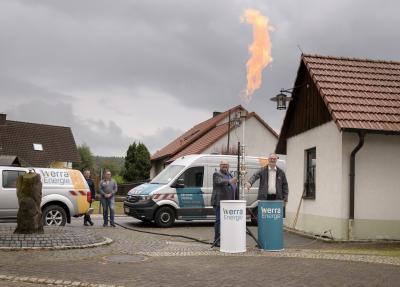 Fest der ersten Flamme im Ortsteil Übelroda