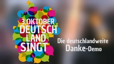 """Initiative """"3. Oktober - Deutschland singt"""""""