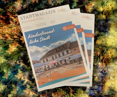 Foto zur Meldung: 2. Ausgabe des Stadtmagazins ist eingetroffen