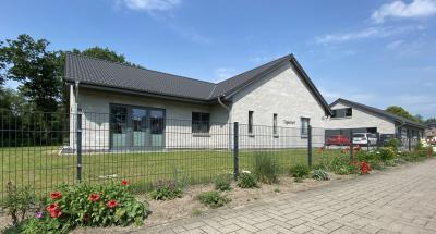 Foto zur Meldung: Gesundheitszentrum: Sozialstation und Tagestreff bereits in Betrieb
