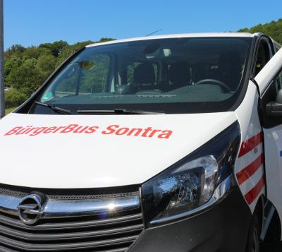 Ab dem 29. September werden wieder Linienfahrten im Stadtgebiet mit dem Sontraer Bürgerbus angeboten.