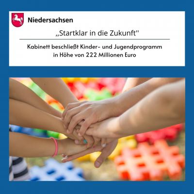 Kabinett beschließt 222 Millionen Euro für Kinder/ und Jugendprogramm