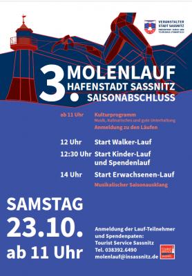 3. Molenlauf Sassnitz – Sportlich aktiv den Sommer ausklingen lassen