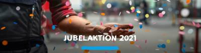 Jubelaktion 2021 - 30 Jahre IKK in der Region