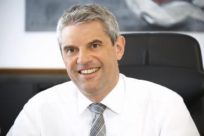 Guido Wernert, Geschäftsführer des St. Vincenz-Krankenhauses, Limburg  und in Personalunion des Evang. Krankenhauses Dierdorf/Selters