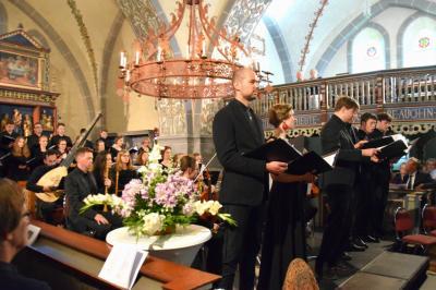2019 gastierte die Camerata mit Werken von Johann Sebastian Bach