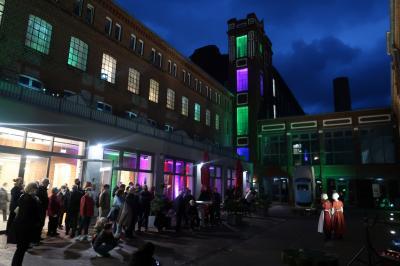 In historischen Szenen wird zur Museumsnacht - hier 2020 -  die Geschichte Pritzwalks dargestellt. Foto: Museum Pritzwalk
