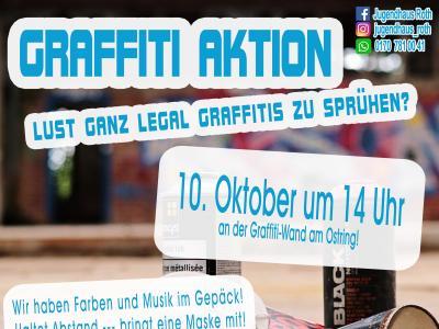 Vorschaubild der Meldung: Graffiti-Aktion am 10. Oktober