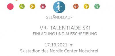 VR-Talentiade Ski im Skistadion des Nordic Center Notschrei