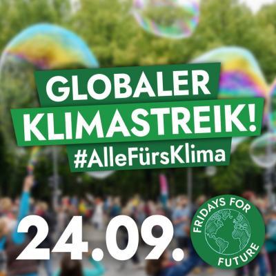 Foto zur Meldung: Globaler Klimastreik