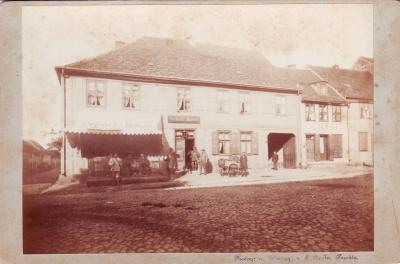 """1890 hieß es """"Hotel Scholz""""..."""