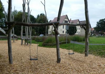 Spielplatz auf dem Ernst-Thälmann-Platz