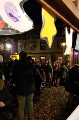 Martinsfest mit Laternenumzug durch die Stadt