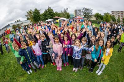 Weltkindertagsfest Fürstenwalde Nord: Buntes Treiben unter grauen Wolken
