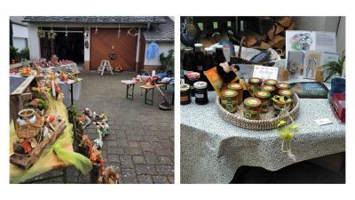 Eindrücke vom Dorfflohmarkt