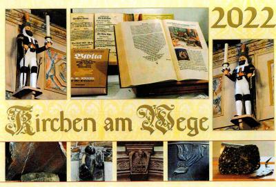 """Kalender """"Kirchen am Wege"""" wieder erhältlich"""