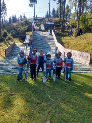 Foto zur Meldung: Wintersportler aktiv unterwegs