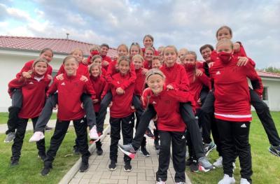 U12-Juniorinnen absolvierten Lehrgang