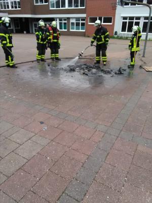 Foto zur Meldung: Erneut Vandalismus am Clara-Schumann-Gymnasium