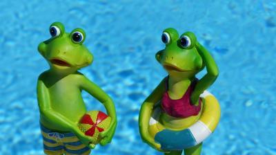 Schwimmunterricht für Klasse 3 und 4