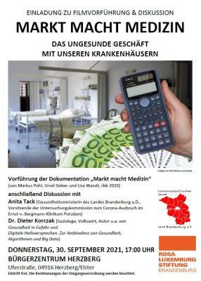 """""""Markt macht Medizin"""""""