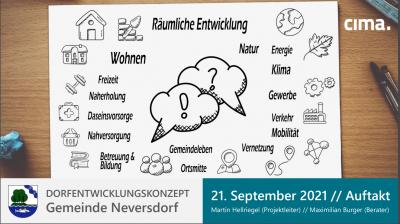 Foto zur Meldung: Dorfentwicklungskonzept (DEK) Neversdorf