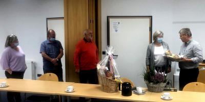 Vizebürgermeisterin feierlich verabschiedet