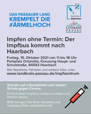 Impfbustour 3 Plakat