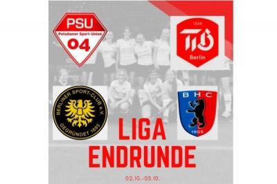 Liga-Endrunde unserer wU16 in Potsdam