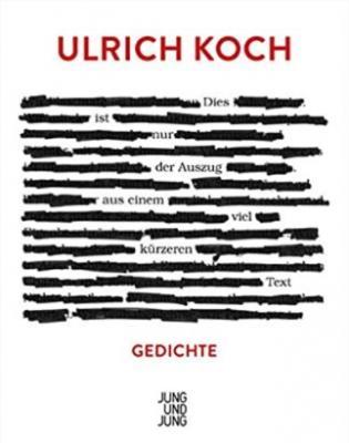 Ulrich Koch: Dies ist nur der Auszug aus einem viel kürzeren Text