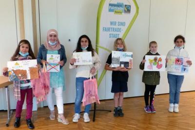 Sieger*innen des Malwettbewerbs zum Thema Kinderrechte
