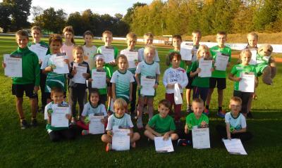 Siegerehrung Saisonabschluss mit Kreismeisterschaften