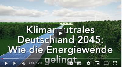 Klimaneutrales Deutschland: Wie die Energiewende gelingt!