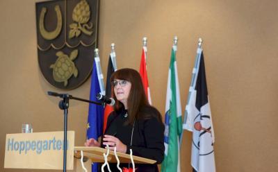 Ministerin Katrin Lange spricht zum Tag der Deutschen Einheit